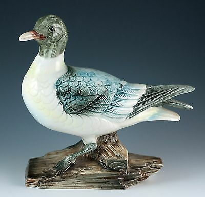 Vintage 7 Inch Ceramic Common Tern Bird Figurine Glossy Finish JSC 152