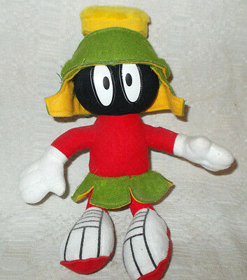 """12"""" Plush Marvin the Martian dated1995 on tag"""