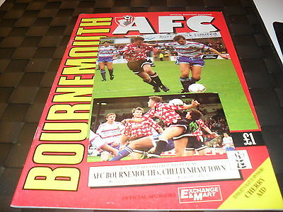 Bournemouth v Cheltenham Town 16th December 1992 FA Cup