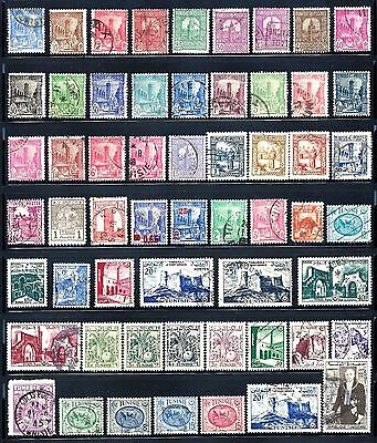 TUNISIA Stamps Assorted Lot of 57