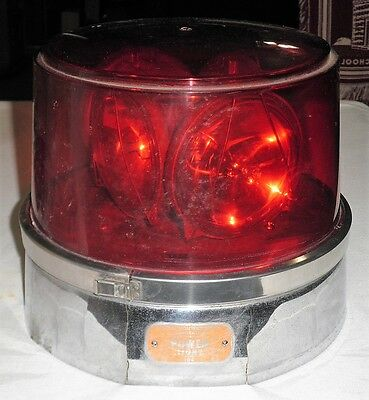 Vintage Ambulance Emergency Vehicle Signal Light