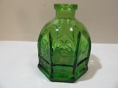 Vintage Wheaton Bottle Carter Ink Cathedral