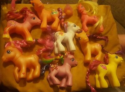 8 my little pony g2 and g3 bundle