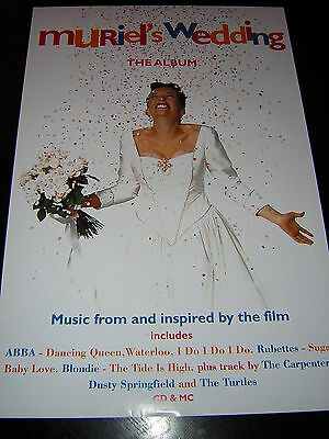 Original Muriels Wedding Promotional Poster - Up - The Album