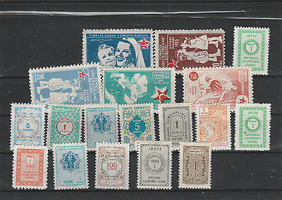 Turkey mint never hinged Postage stamps Los F 321