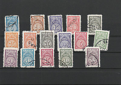 Turkey Mix canceled Postage Stamps Stamps Los Right 2588