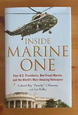 book HMX-1 MARINE CORPS HARDCOVER HELICOPTER l'heureux USMC