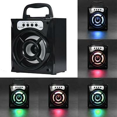 Outdoor Bluetooth Wireless Super Bass with USB/TF/AUX/FM Radio Portable Speaker