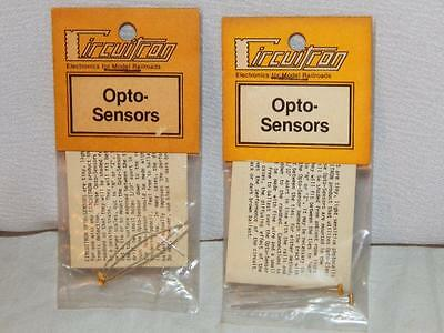 Vintage Circuitron Opto-Sensors 800-9202 Lot TWO packs of TWO (4 sensors total)