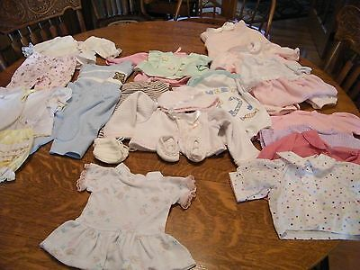 Lot of 22 Pieces of Clothes For Lee Middleton or Other Modern Doll