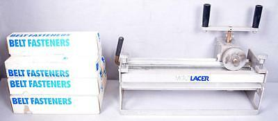 Clipper Microlacer Conveyor Belt Lacer Repair w/ 7 Boxes of Clips  FREE SHIPPING