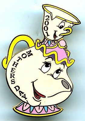 Disney Auctions - Mrs. Potts and Chip Mothers Day 2001 Pin