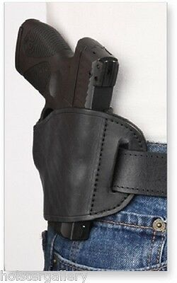 Black Leather Belt Slide for Springfield 1911 RH Pro-Tech OWB Holster PTBS-MB