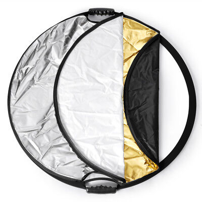 """Neewer Multi Disc 43"""" Photography Reflector 5-in-1 Circular Collapsible"""