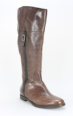 Cole Haan NEW Brown Shoes 6M Fashion Knee-High Leather Boots $169- #283 DEAL