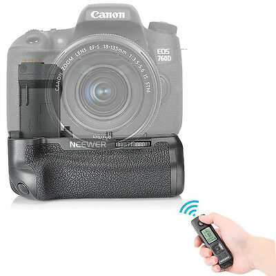 Neewer NW-760D Wireless Remote Control Battery Grip for Canon EOS 750D/760D