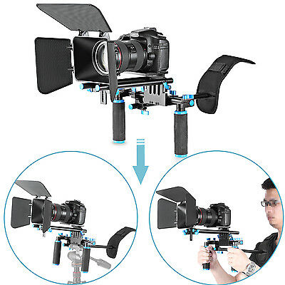 Neewer DSLR Movie Video Making Rig Set System Kit for Canon Nikon Sony