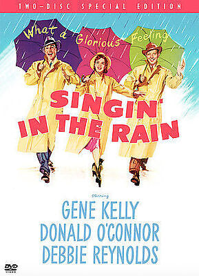 Singin in Rain  DVD Gene Kelly, Donald OConnor, Debbie Reynolds, Musical