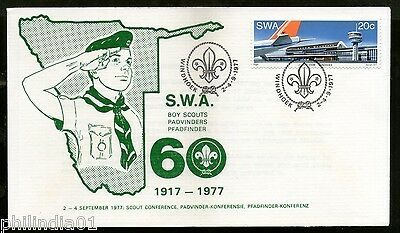 South West Africa 1977 Scouts Conference 60 Years in SWA Special Cover # 6442