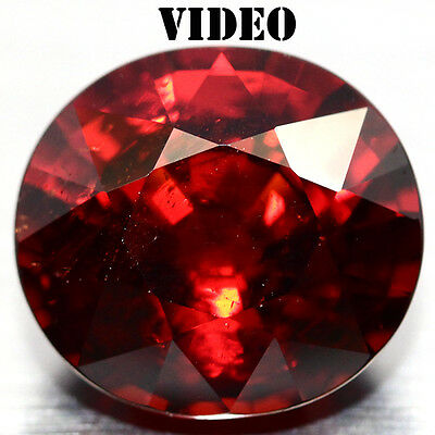 5.00 Ct Big! Natural! Orange Africa Spessartite Garnet Oval