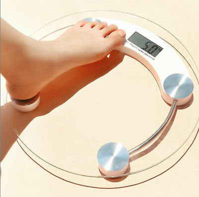 180KG/400lb Digital LCD Blackligh Scale Body Weight Watchers High Precision