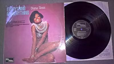 Diana Ross - Lp - Everything Is Everything - Tamla Motown - Germany