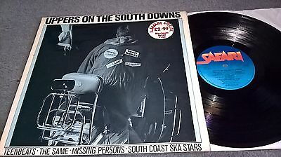 Uppers On The South Downs - Rare Compilation Lp - Mod Revival - Safari Records
