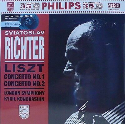PHILIPS - PHS-900-000 - LISZT - PIANO CONCERTOS - KONDRASHIN -RICHTER - 35mm