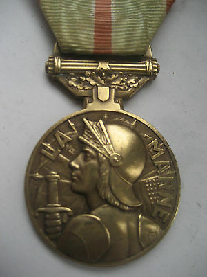 French W1 Medal For The Battle Of The Marne 1914.##rare##