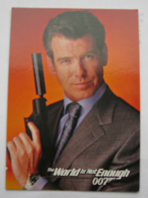 James Bond Inkworks The World Is Not Enough Promo Card DW-1
