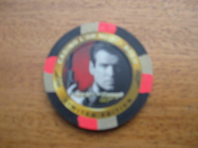 James Bond Inkworks The World Is Not Enough Casino Chip C1