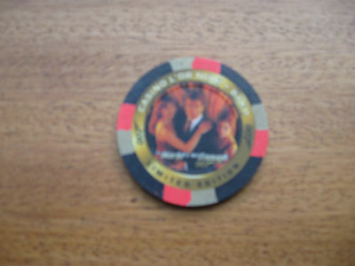 James Bond Inkworks The World Is Not Enough Casino Chip C2