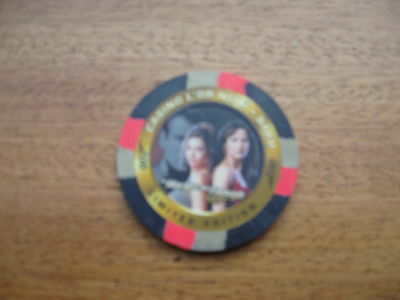 James Bond Inkworks The World Is Not Enough Casino Chip C3