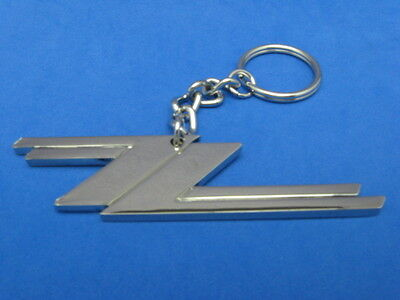 Zz Top Video Key Ring Chain Keychain Real Chrome Original New