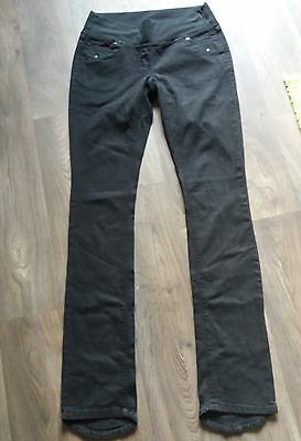 Next Maternity  Trousers Jeans Size 10 XL Black
