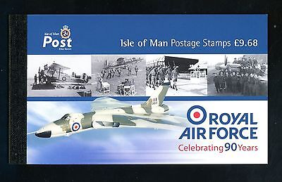 2008  Isle of Man  R.A.F.  Prestige Stamp Booklet