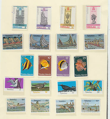 A fantastic mint Tokelau 1975-80 group