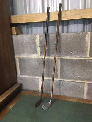 Vintage Scottish Golf Club & Putter - Rustlers No.7      #889