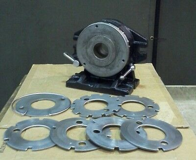 """Nikken Super Spacer  /  Manual Indexer 8"""" ~~ with 6 Indexing Plates   Good USED"""