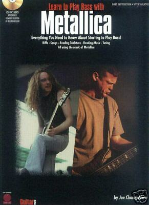 Learn To Play Bass With Metallica Noten Tab CD