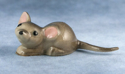 Vintage Miniature Hagen Renaker Papa Mouse #358 Made In USA