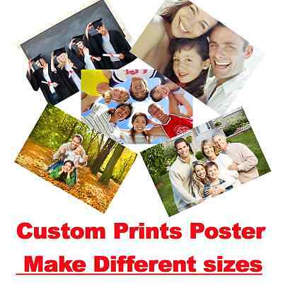 Custom Customize Print Thin Silk Fabric Poster Your Photo Design Any Size