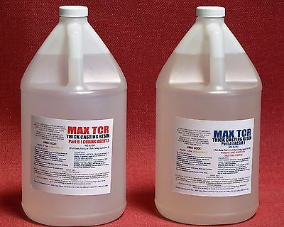 Epoxy Resin Crystal Clear Floral Arranging & Water Simulation 2 Gallon Bulk Kit
