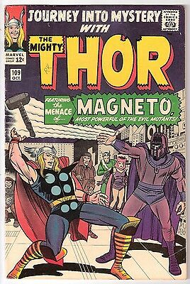 Journey Into Mystery #109, Marvel 1964 Fn-/fn, Rk Collection Magneto Appears