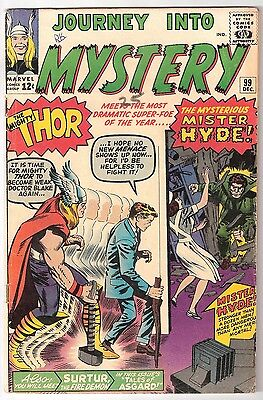 Journey Into Mystery #99, Marvel 1963 Vg Cond., Rk Collection 1St Mister Hyde