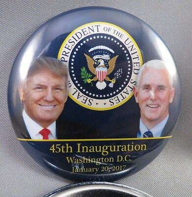 Wholesale Lot Of 22 Trump Pence 45Th President Inauguration Buttons 01.20.17 Usa