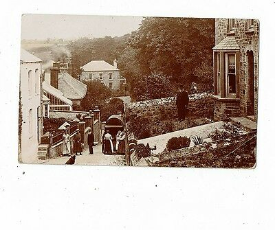 Cornish Post Card Real Photo I Think By E.a. Bragg Of Rosemunday Hill St. Agnes