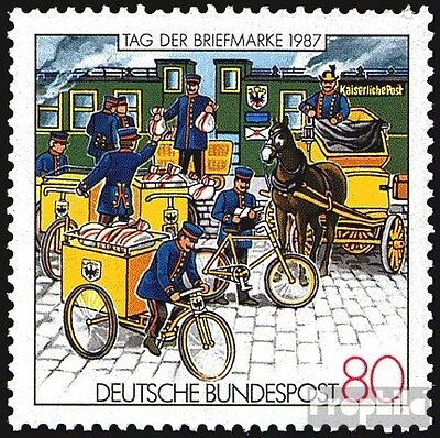 FRD (FR.Germany) 1337 (complete.issue) unmounted mint / never hinged 1987 railwa