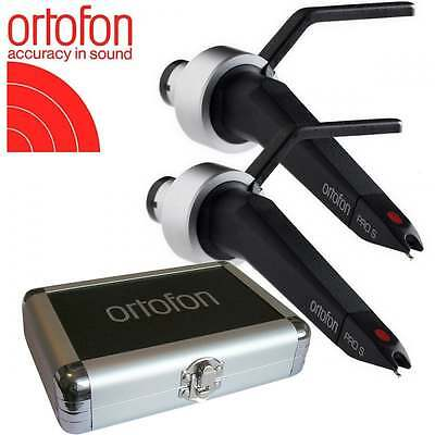 UKDJ Ortofon Concorde Pro S Twin Pack Cartridge & Stylus with Flight Case