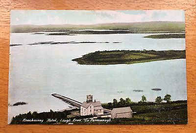 Lot 7/10 1900's Antique Postcard of The Knockninny Hotel  Fermanagh N. Ireland